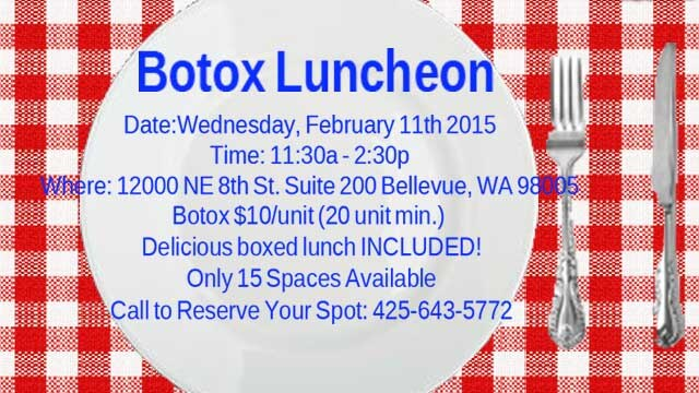 First Botox Luncheon!