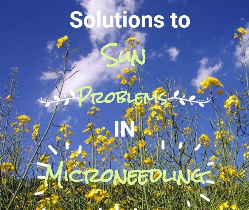 Microneedling: A Quick Fix for Sun Problems